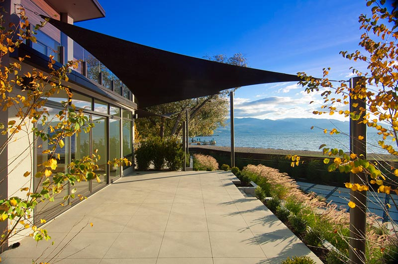 Rectangular Shade Sails can be used to cover wide spaces elegantly