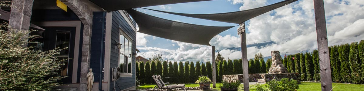 Square and Triangle Shade Sails