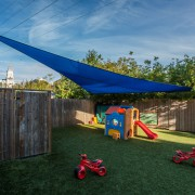 A right triangle Shade Sail is the perfect elegant shade solution.