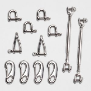 Square and Rectangle Shade Sails Hardware Kit