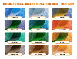 Commercial Grade Dual Colour 350 GSM