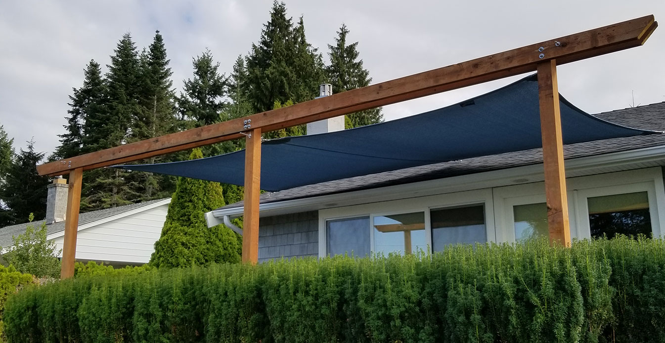 Custom Shade Sail from Shade Sails Canada