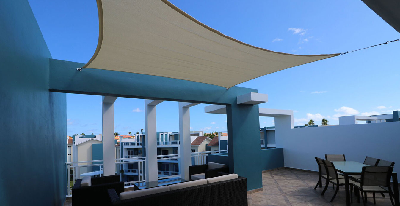 Quadrilateral Shade Sail from Shade Sails Canada