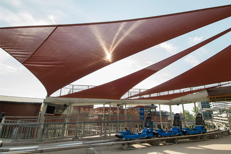 Blue Mountain Shade Sails