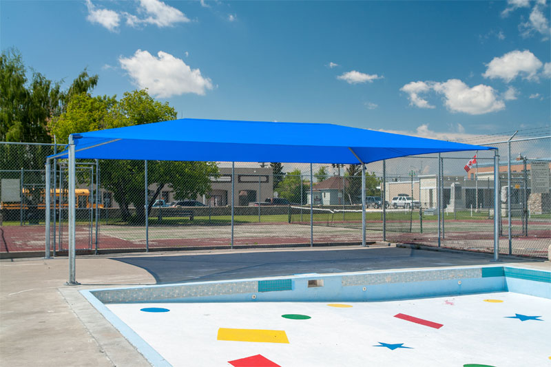 City of Fort Macleod Framed Shade Structure