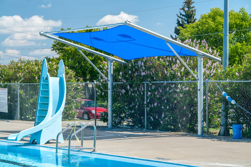City of Fort Macleod Cantilever Shade Structure