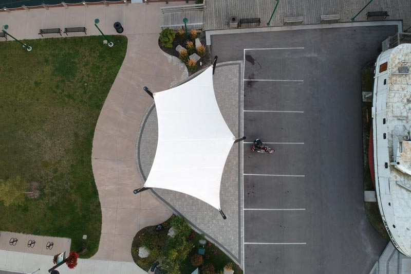 Port Dover Fabric Structure