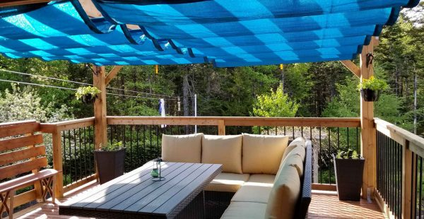 Custom Roman Shades from Shade Sails Canada