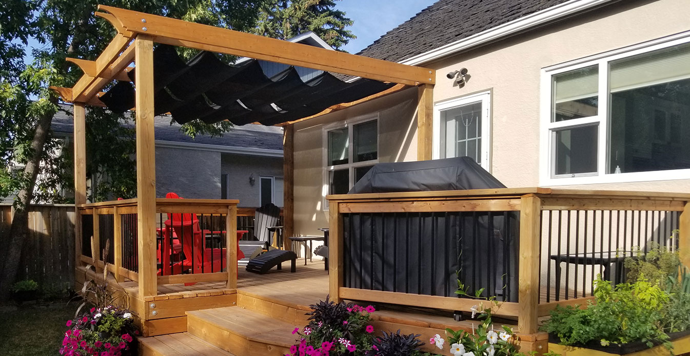 Standard Roman Shades from Shade Sails Canada