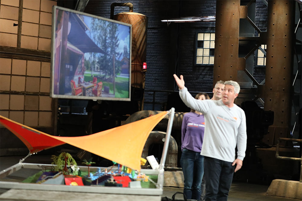 Shade Sails Canada on Dragons' Den