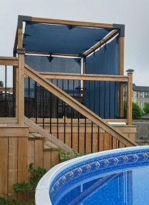 Custom Pergola Shade Panels photo review