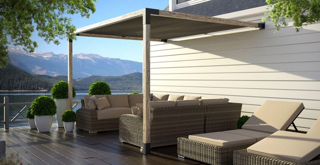 Shade Pergola from Shade Sails Canada