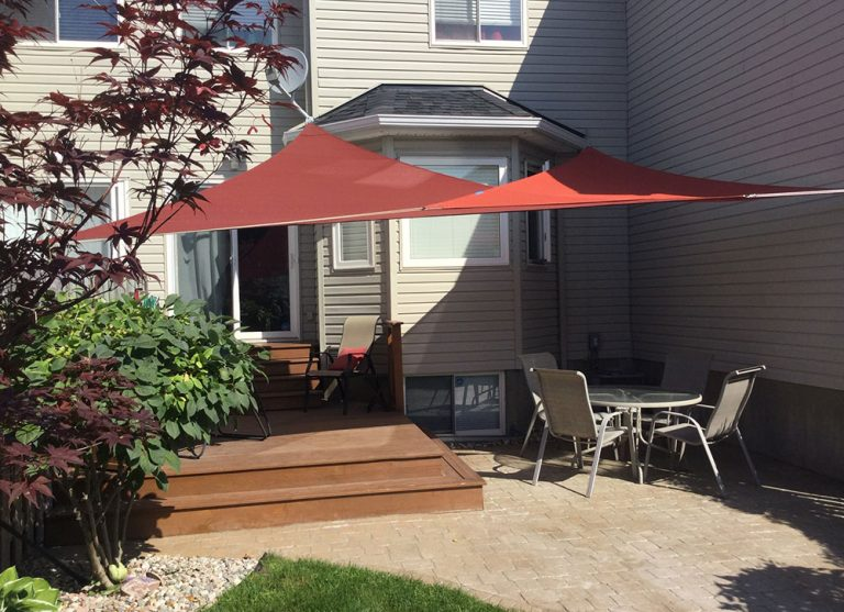 Standard Sized Triangle Shade Sail photo review